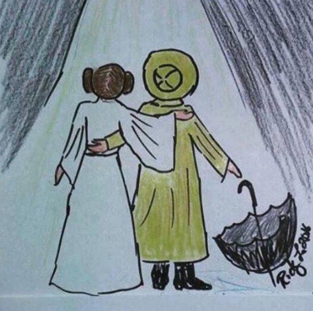 todd-fisher-drawing-carrie-fisher-debbie-reynolds