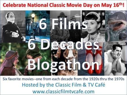 6 Films 6 Decades Blogathon ver 2
